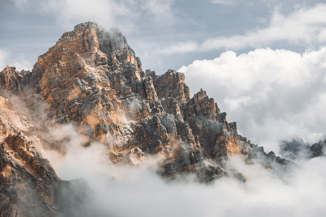Brown and White Mountain Under White Clouds - unsplash