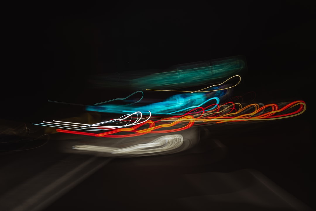 Green Red and Blue Light Streaks - unsplash