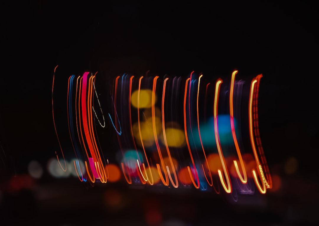 Night Lights and Bokeh - unsplash