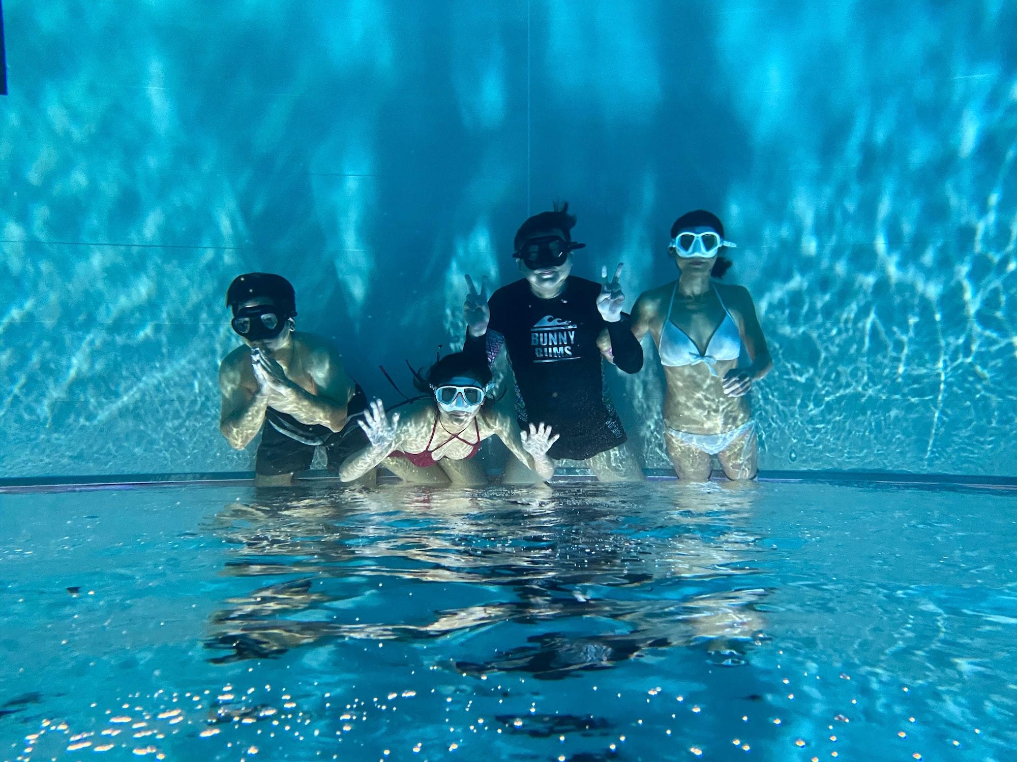 Dive indoor