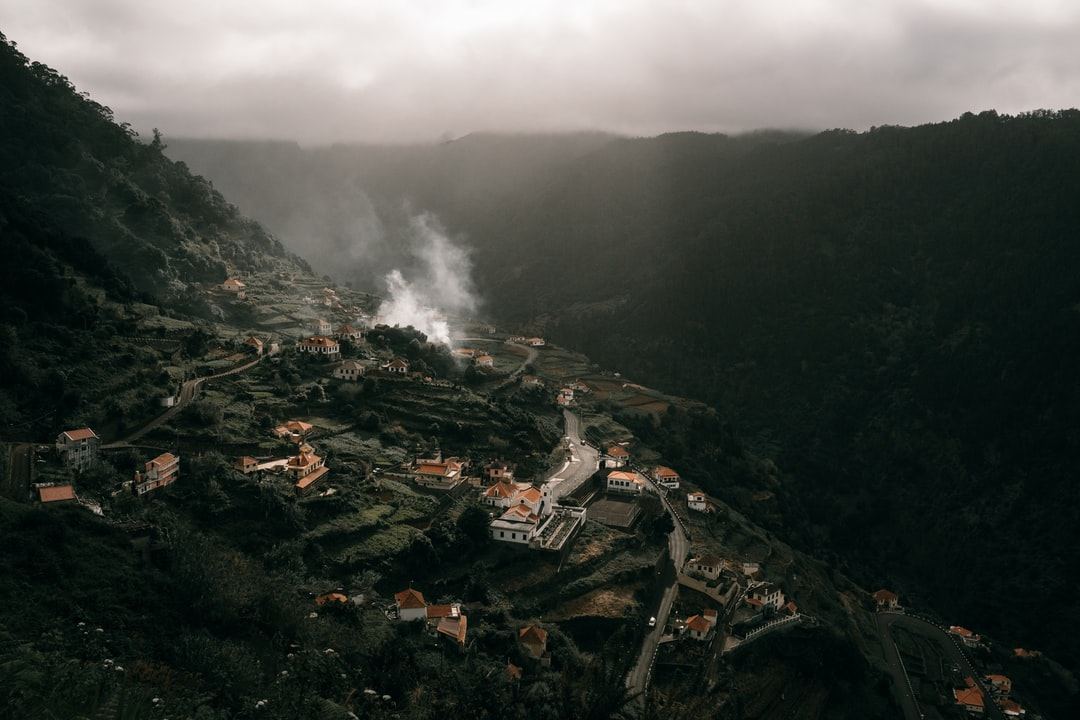 Aerial View of City Near Mountain During Daytime - unsplash