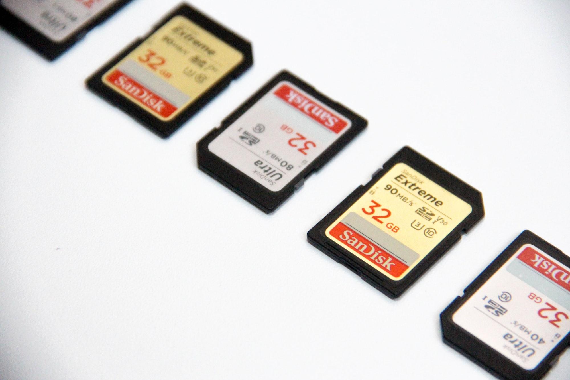 カーナビで録音した音源を新しい大容量SDカードに複製して移行する