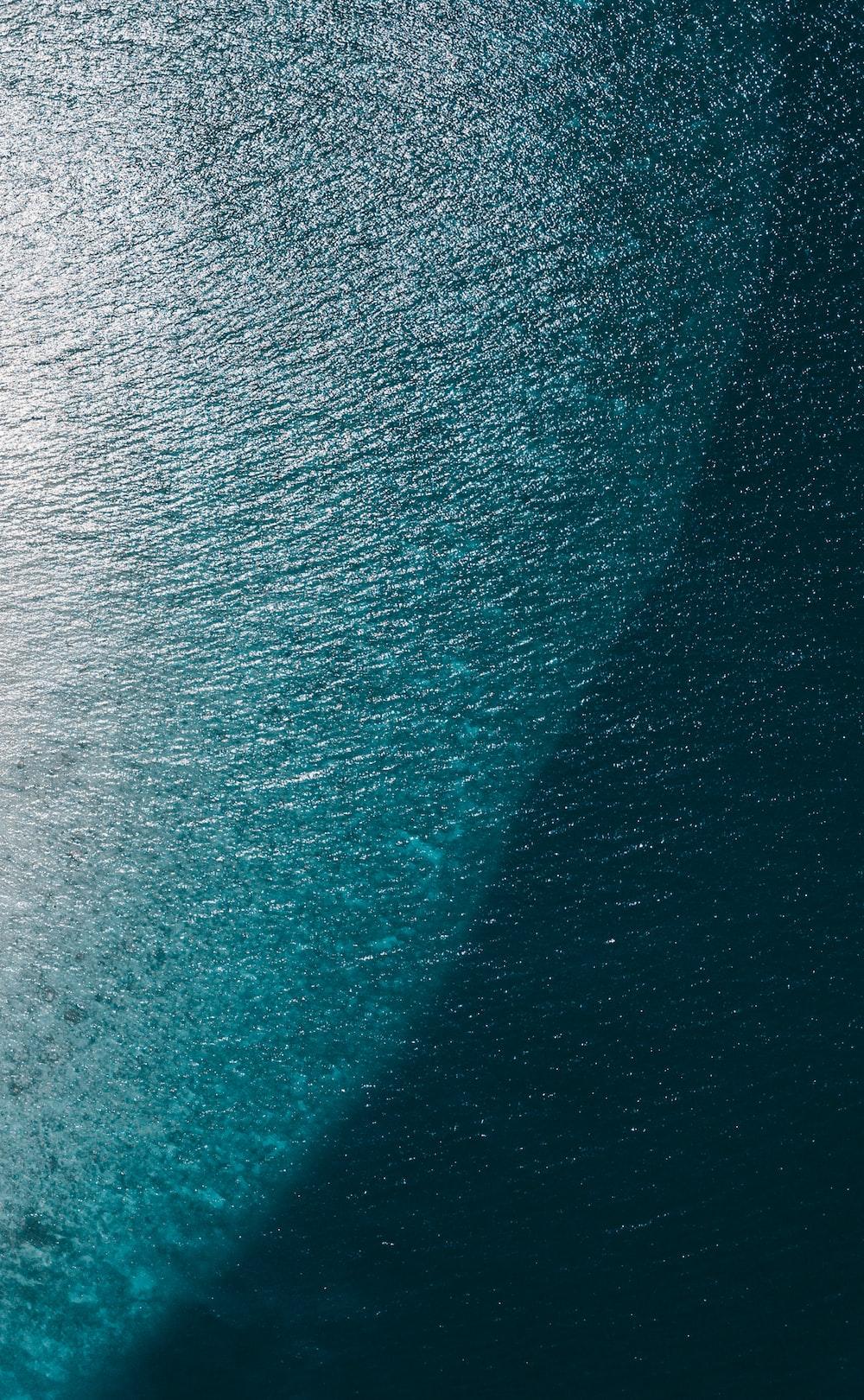 close up photo of blue textile