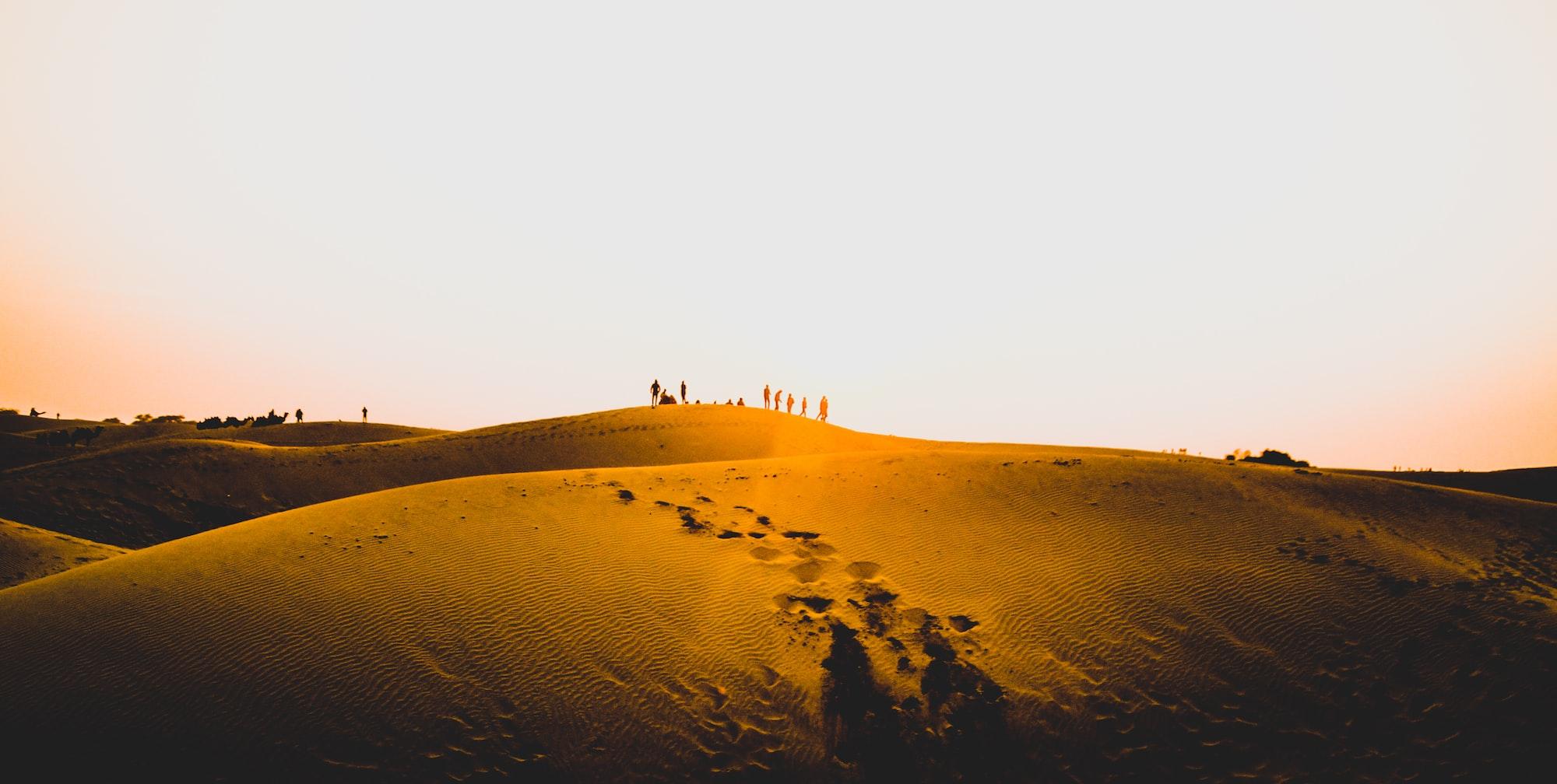 The Great Thar Desert, India, Rajasthan