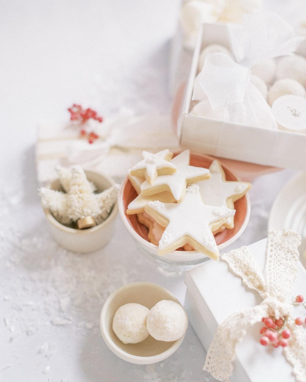 white ceramic bowl on white table