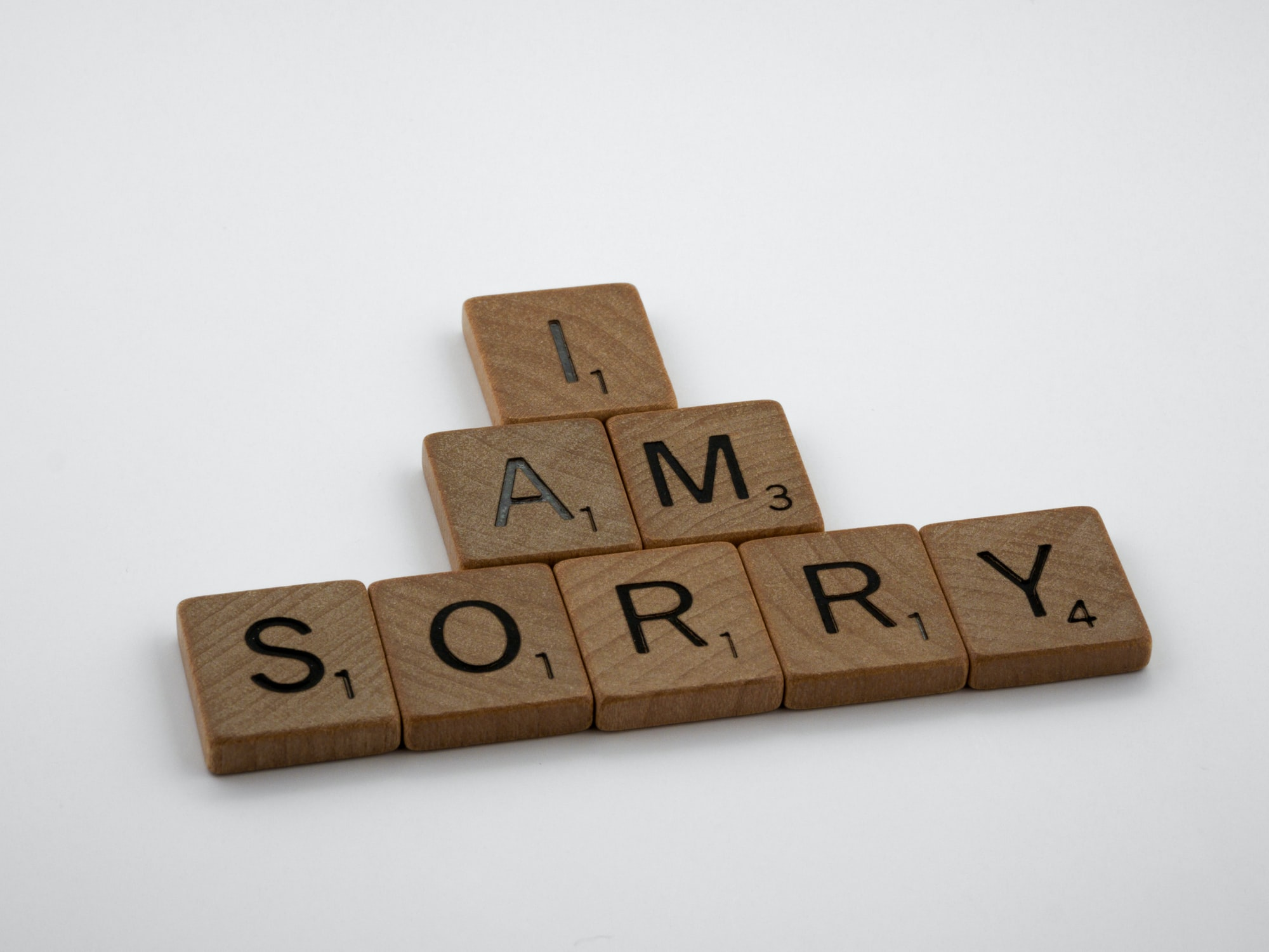 Il y a trop de mauvaises raisons pour s'excuser