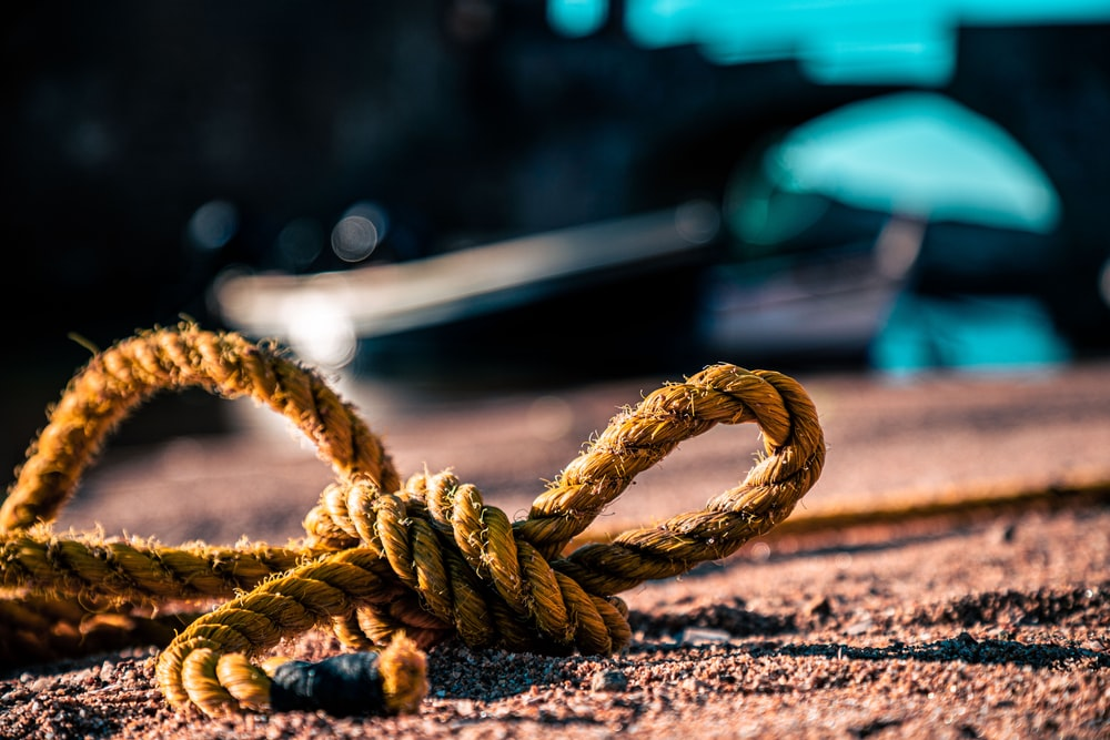 brown rope on brown wooden table