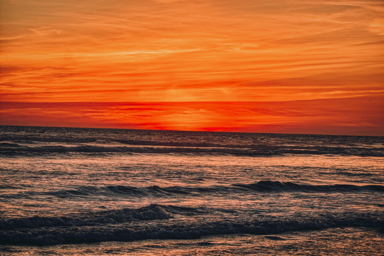 Amazing sunset in Acapulco.