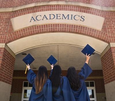 graduation teams background