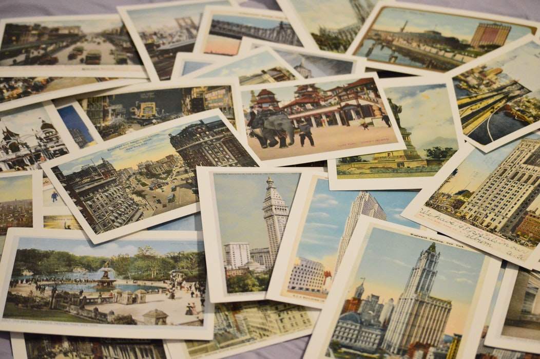Souvenirs to bring back from your honeymoon - postcard