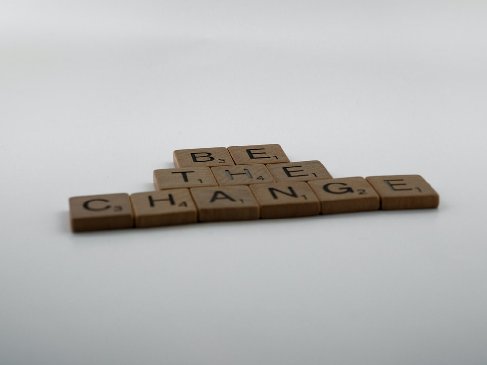 brown wooden blocks on white surface