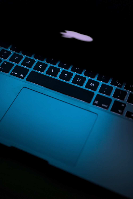 macbook pro turned on displaying apple logo