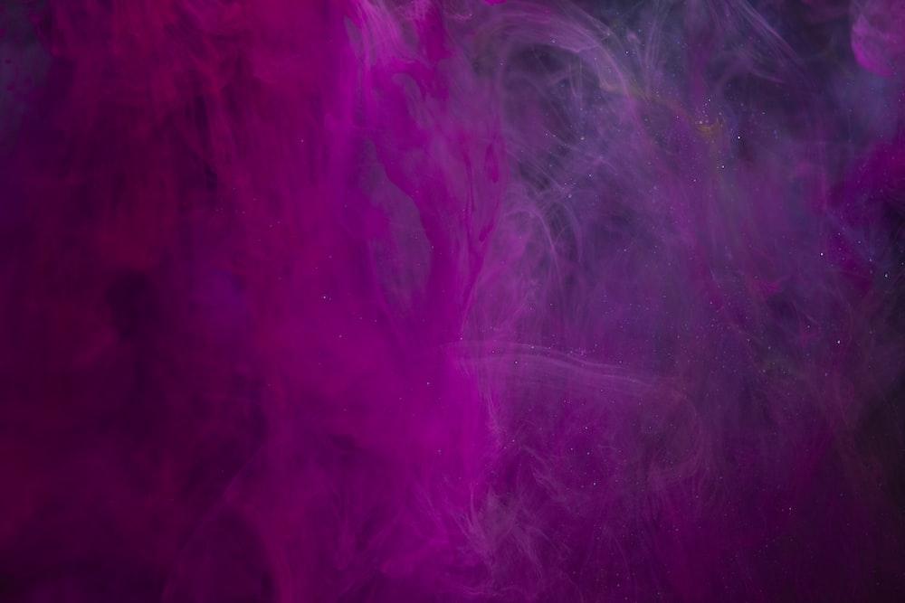 purple and pink smoke illustration