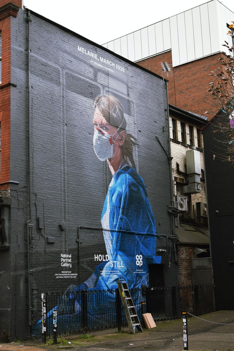 COVID-19 小學防疫教育 口罩 戴口罩的自畫像 美術