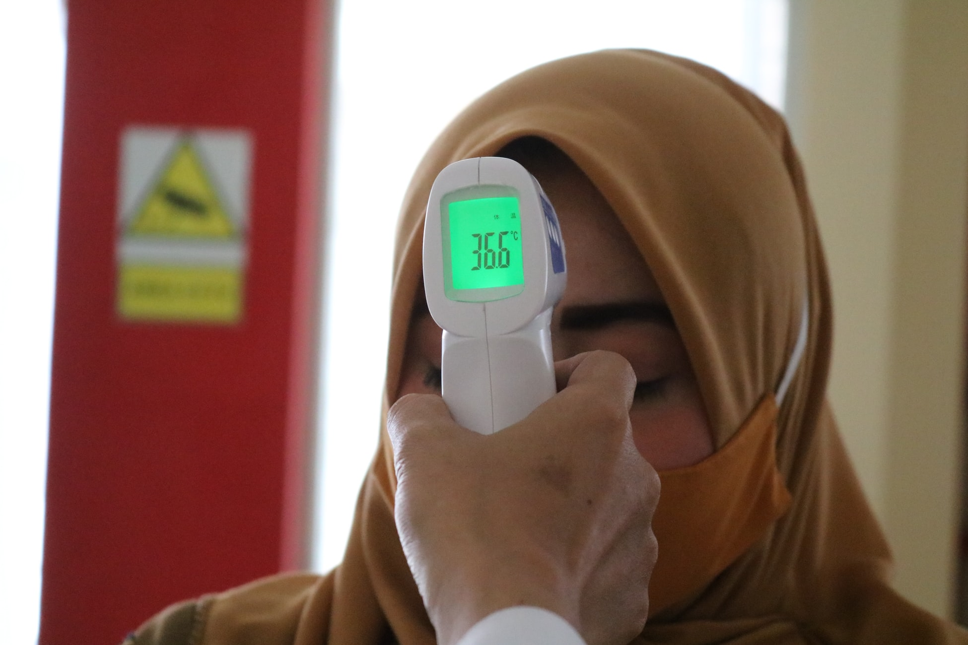 As a Temperature Screener, the main responsibility is to check the temperature of the public and ensuring that SafeEntry is utilised.