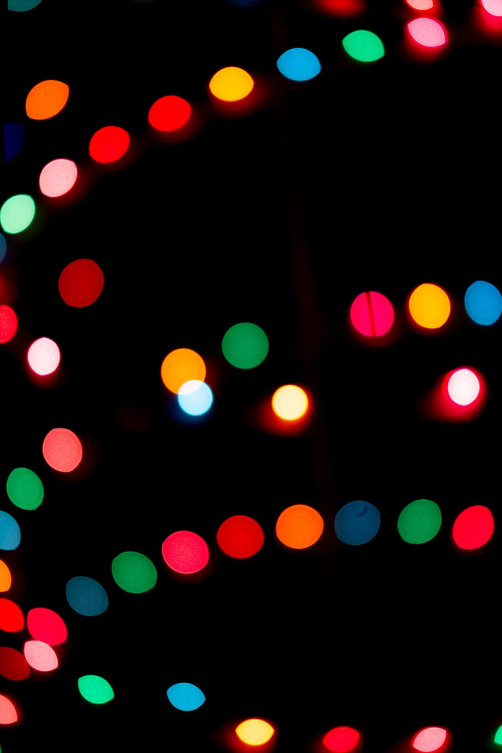 red green and blue lights