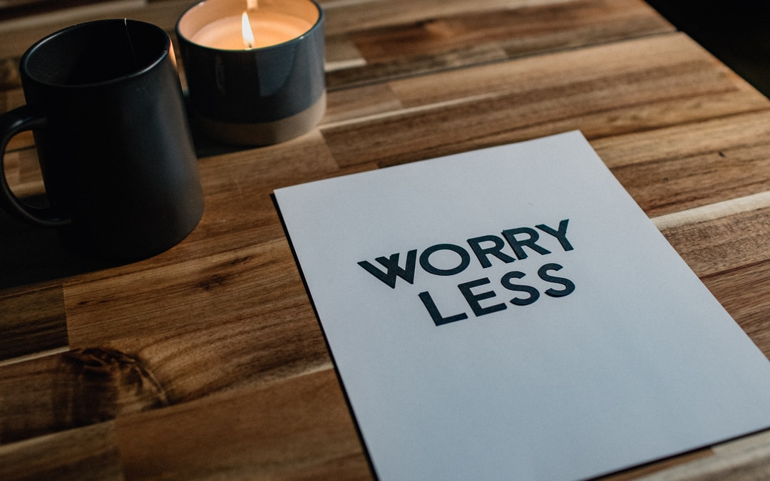Get busy worrying or get busy trusting.