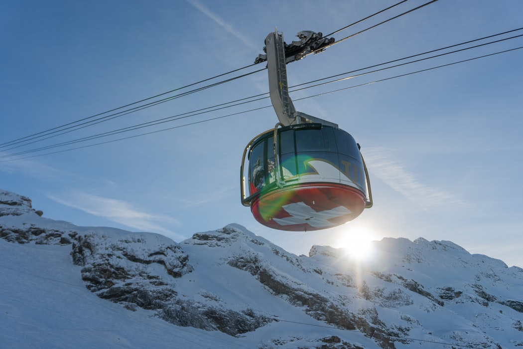 Mount Titlis Cable Car Ride