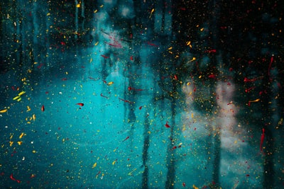 water droplets on glass window poem teams background