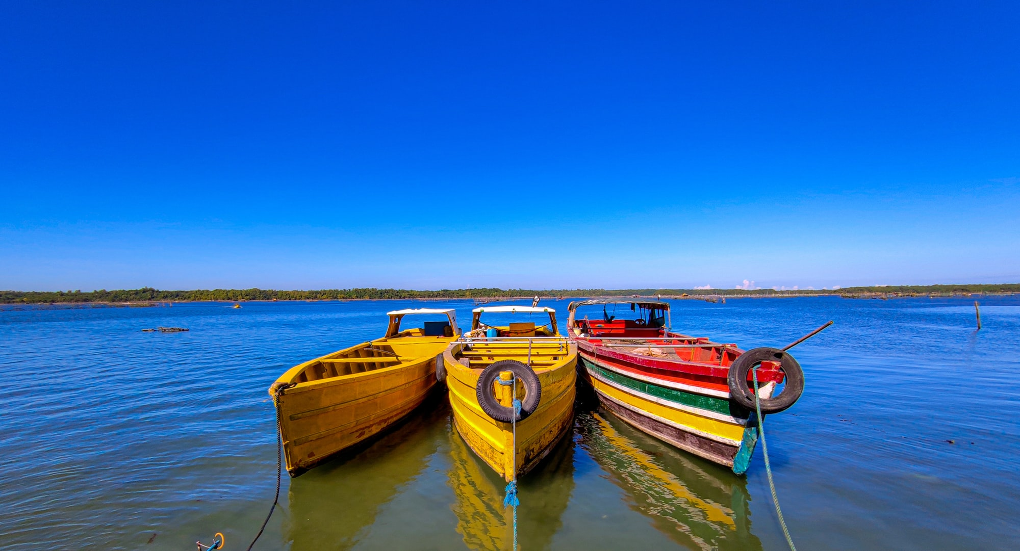 some boats in Siapar, Anda Pangasinan.