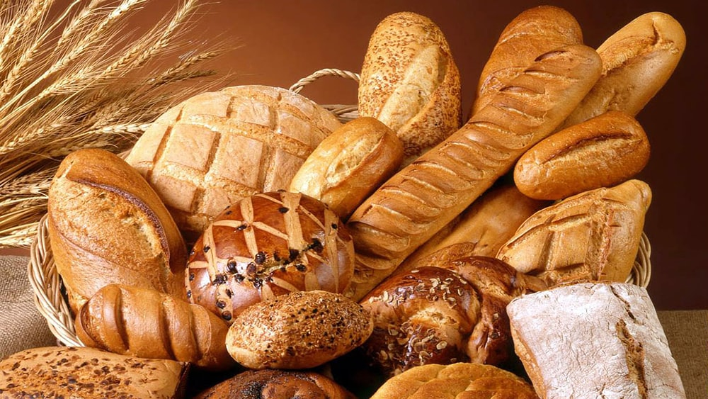 brown bread on brown wicker basket