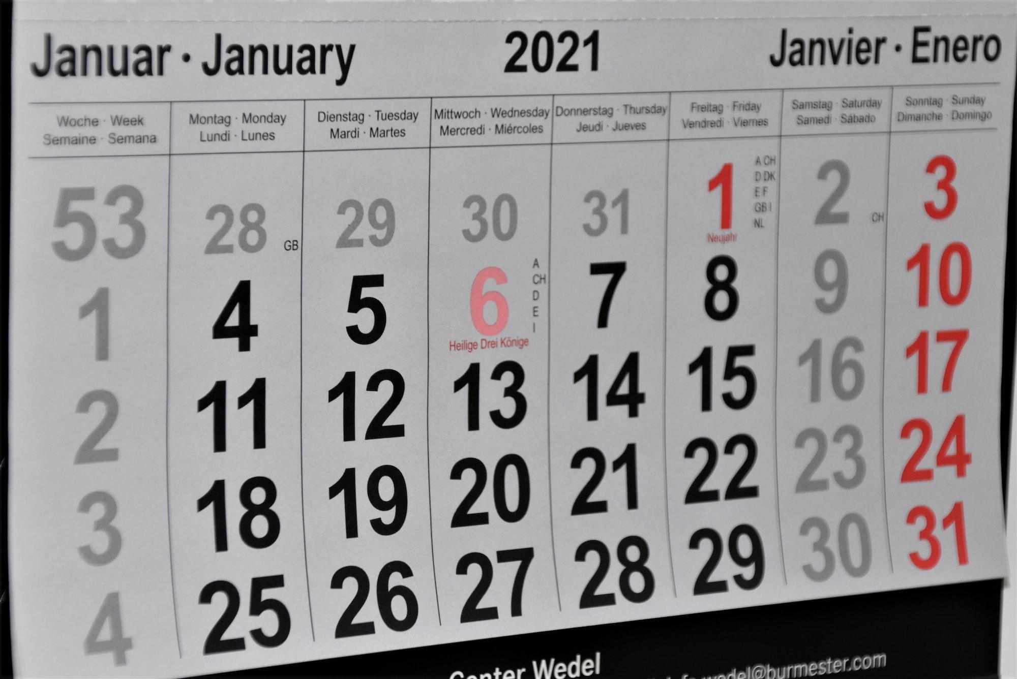 Monthly Progress Report - January, 2021