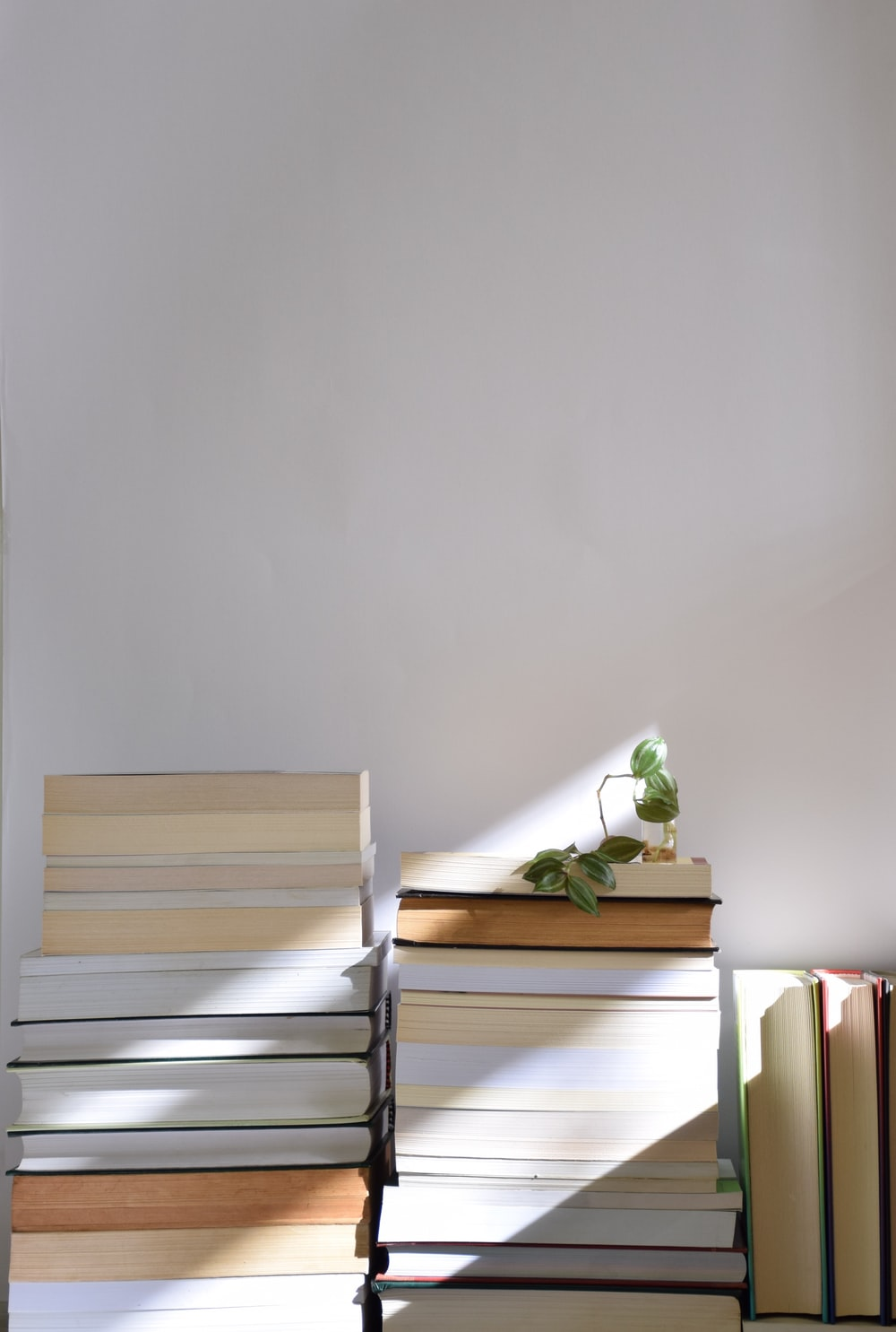 brown wooden drawer beside white wall
