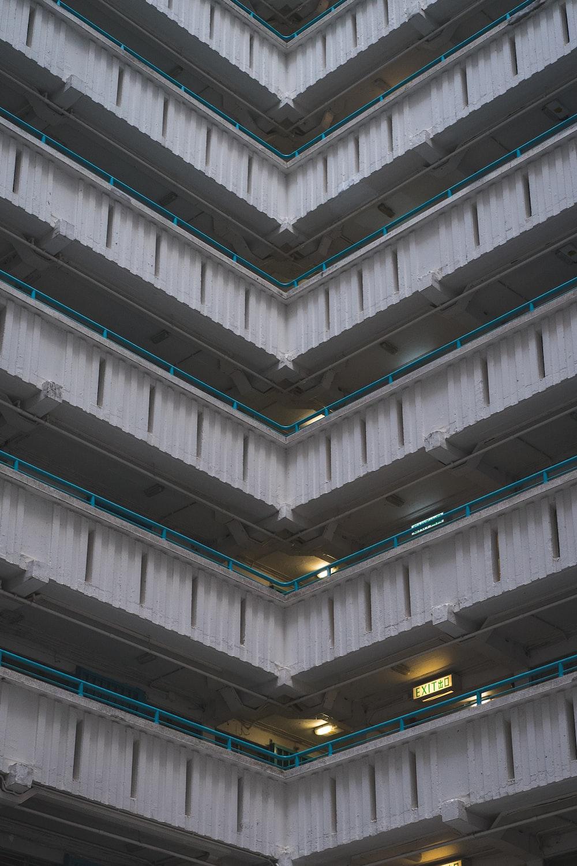 white and gray concrete building