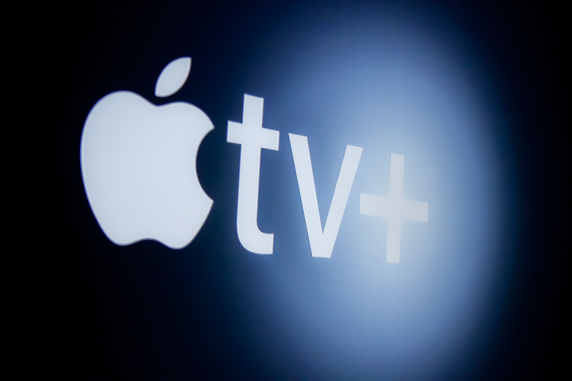Apple tv+ intro screen.