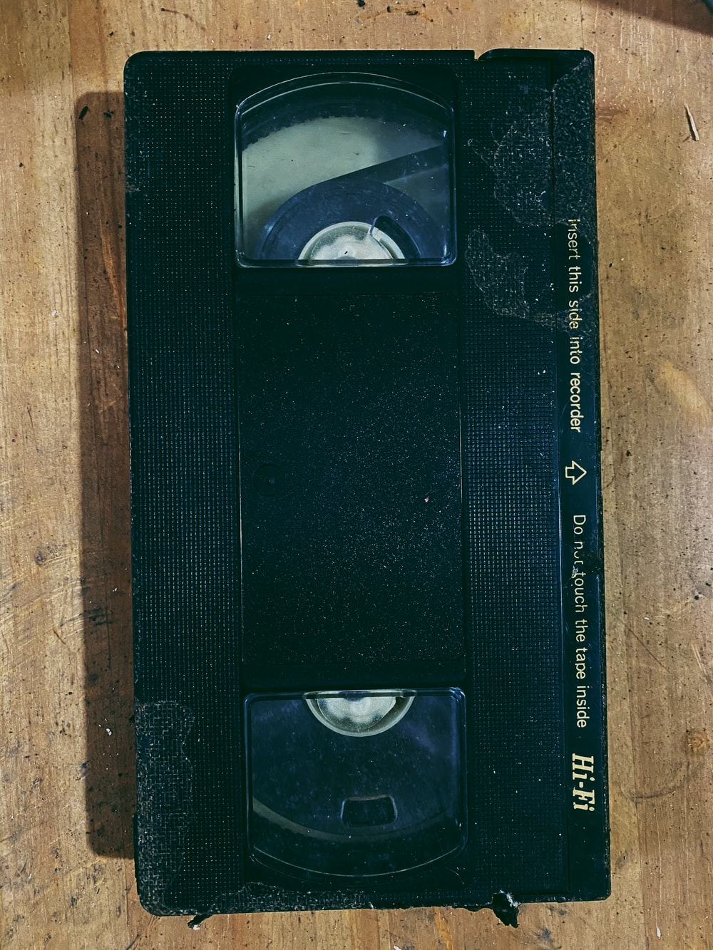 black and white rectangular device