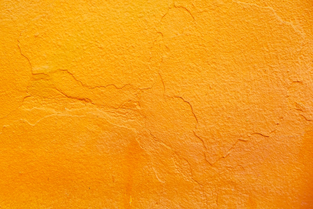 orange concrete wall with shadow