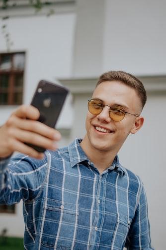 man-selfie