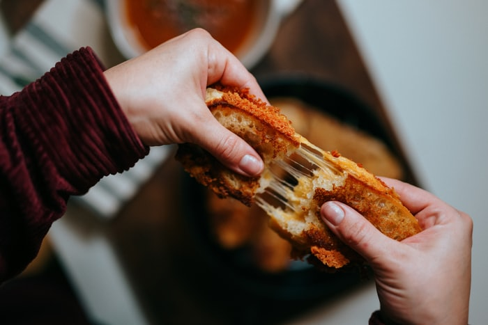 Cover Image for Grilled cheese kimchi