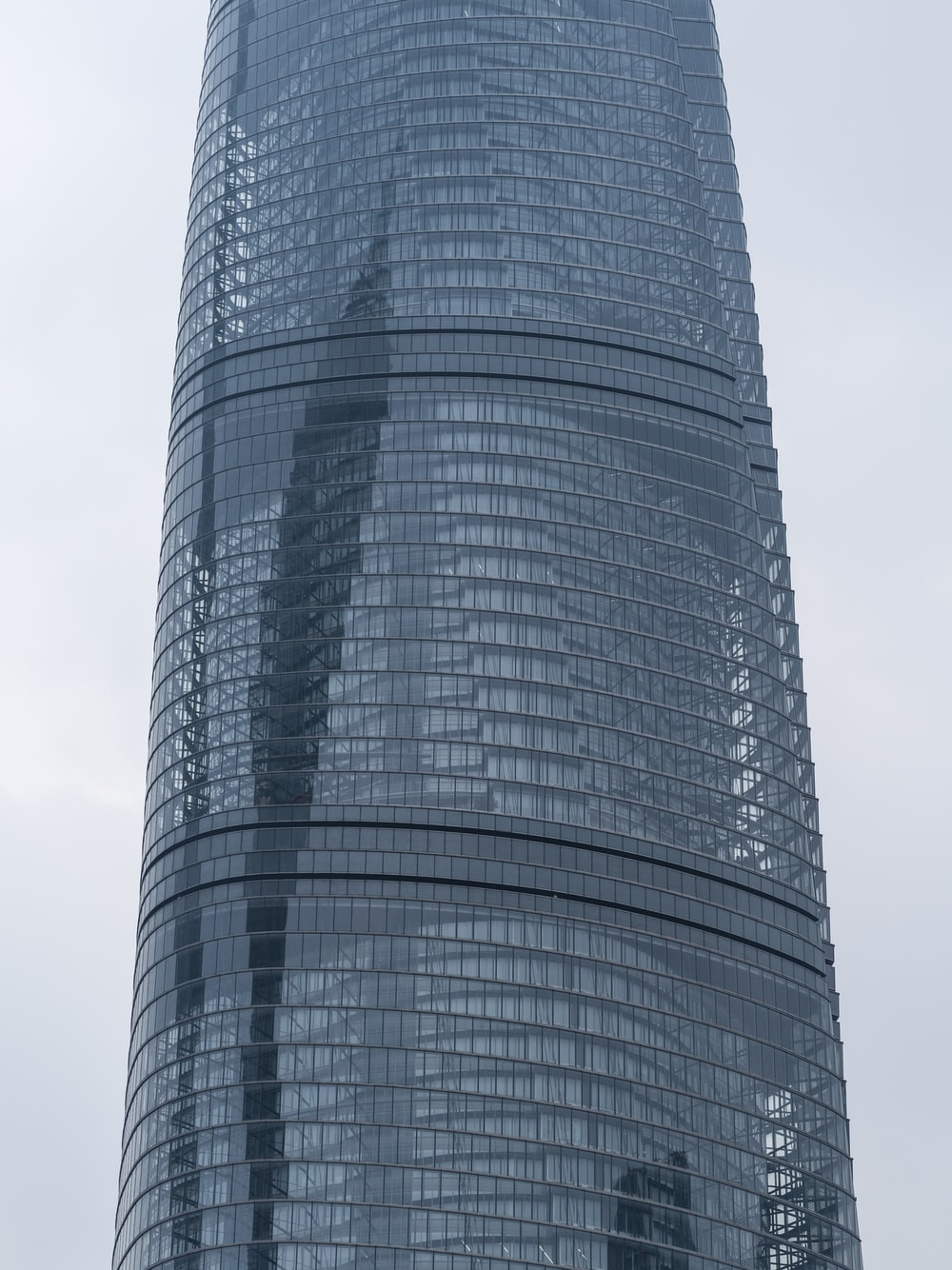 gray and black high rise building
