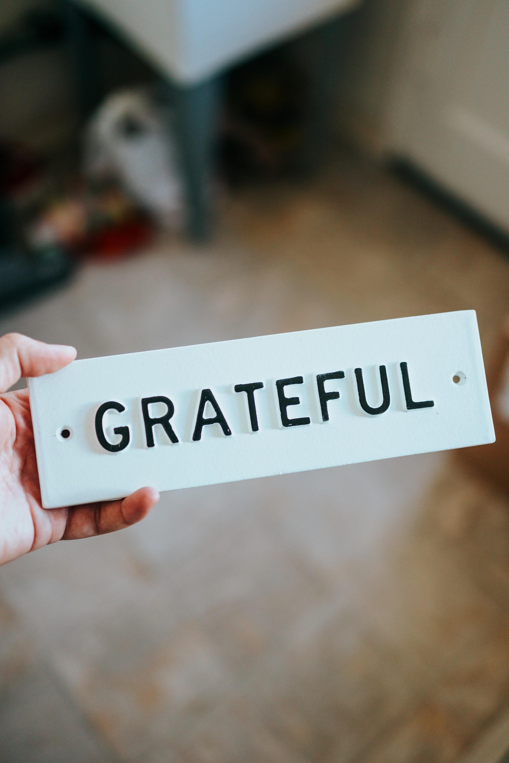 An Open Letter of Gratitude.