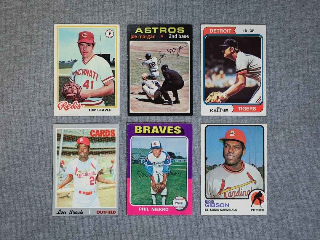 HOW TO GET STARTED BUYING AND SELLING BASEBALL CARDS