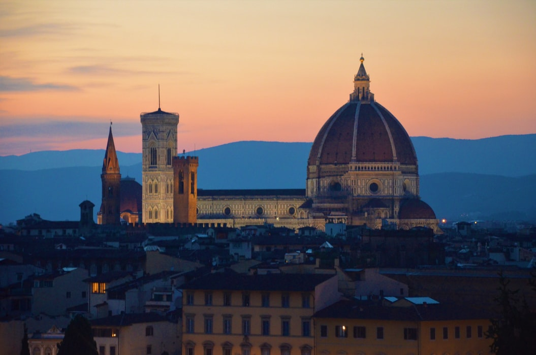 Florence, een stad in Toscane