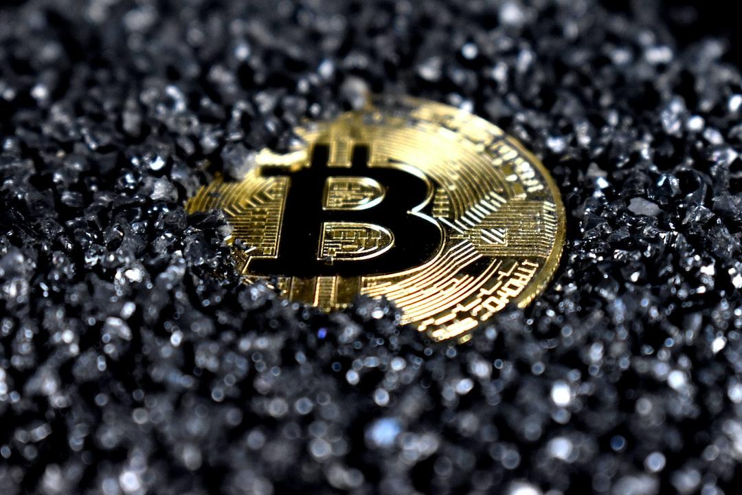 Black Bitcoin.