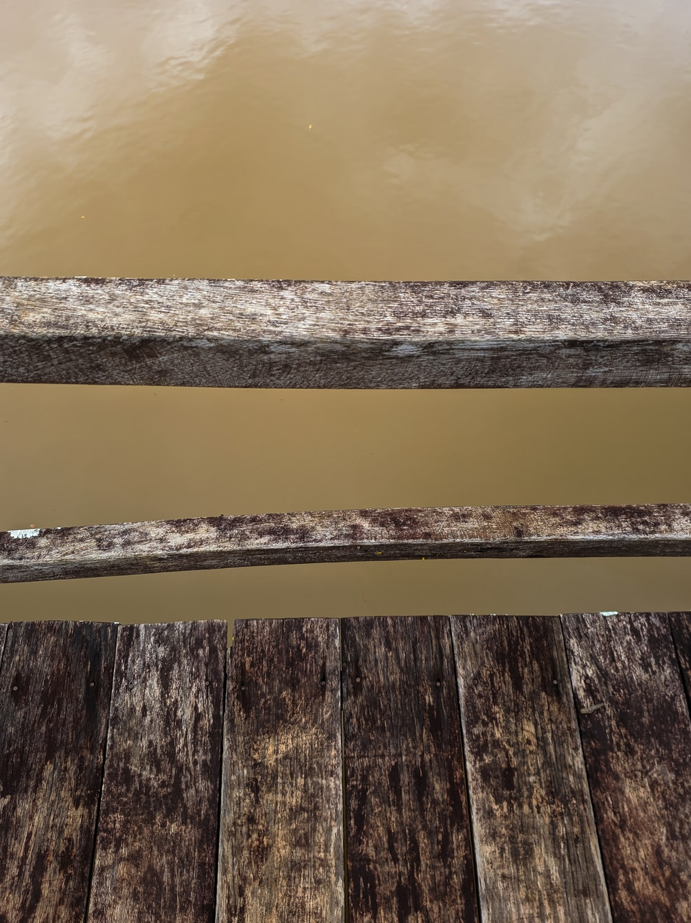 black and brown wooden plank