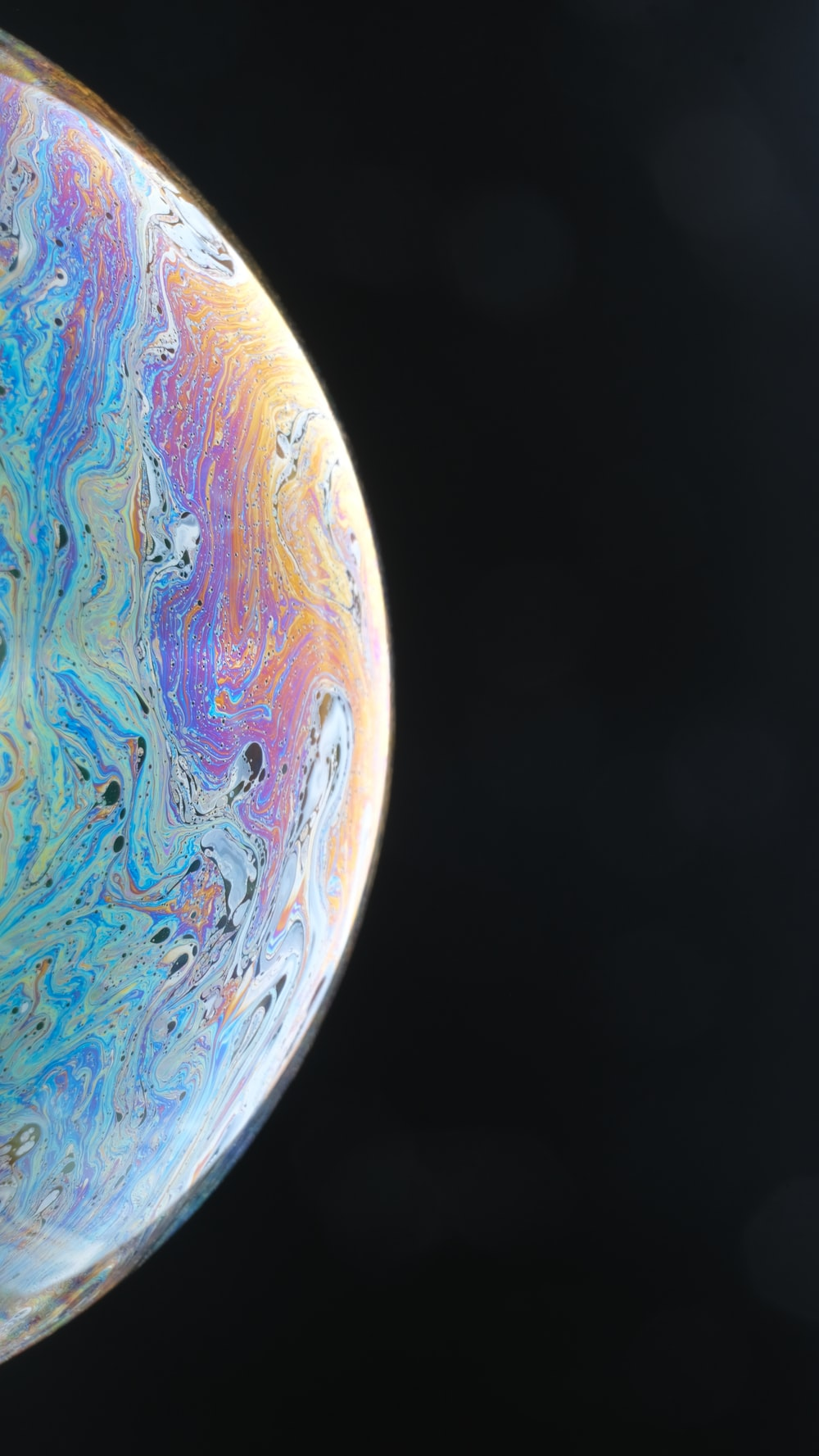 blue and brown planet earth