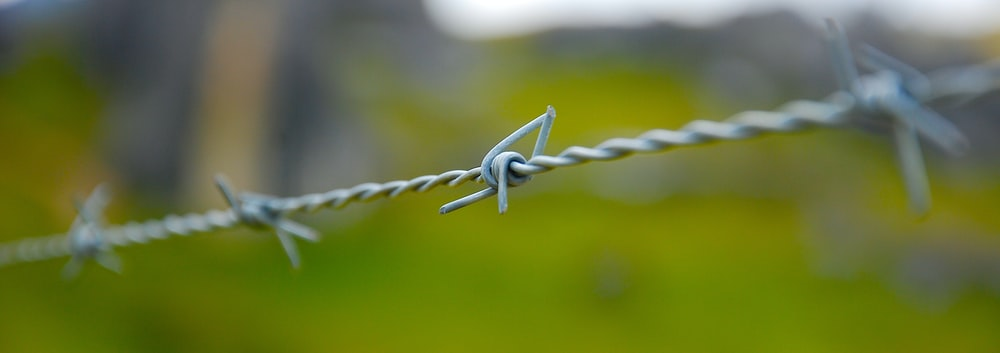 white metal wire in close up photography