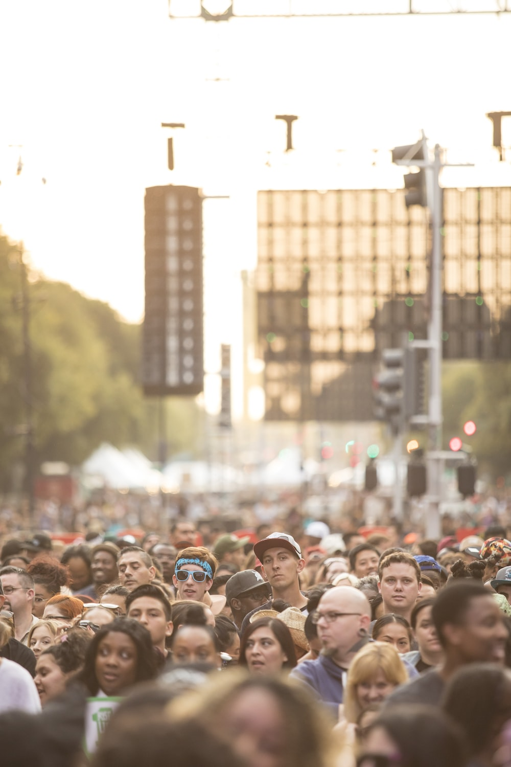 people in a concert during daytime