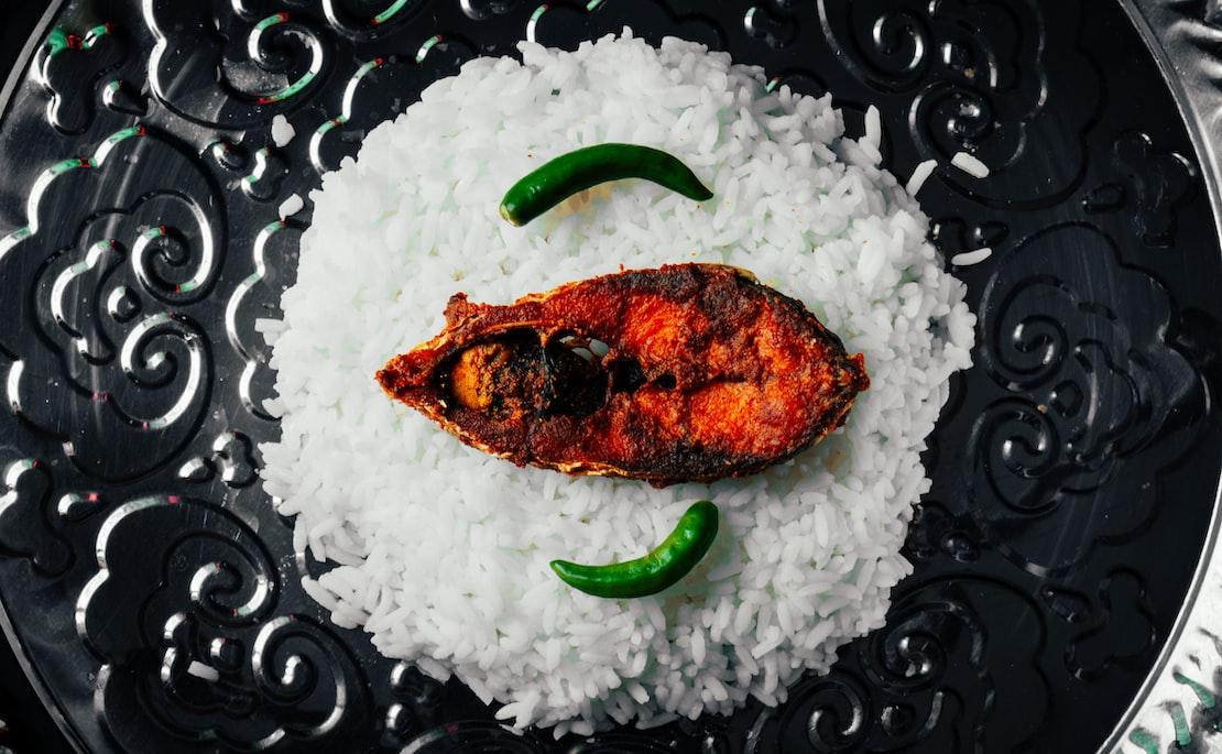 A dish in Sri Lanka