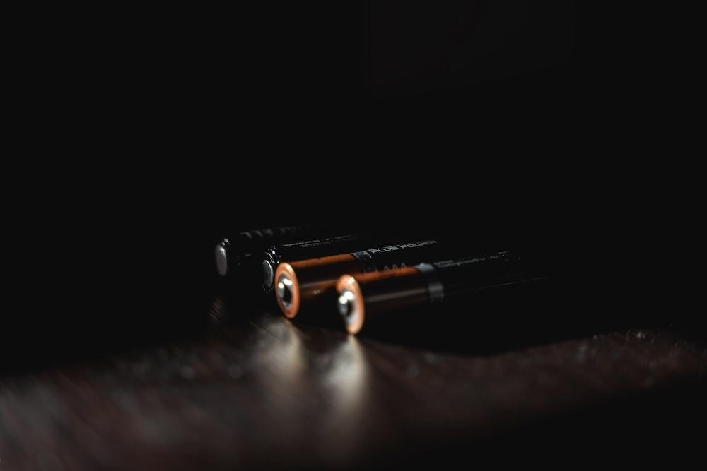 black and orange metal tool