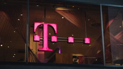 pink and purple led light letter zoom background