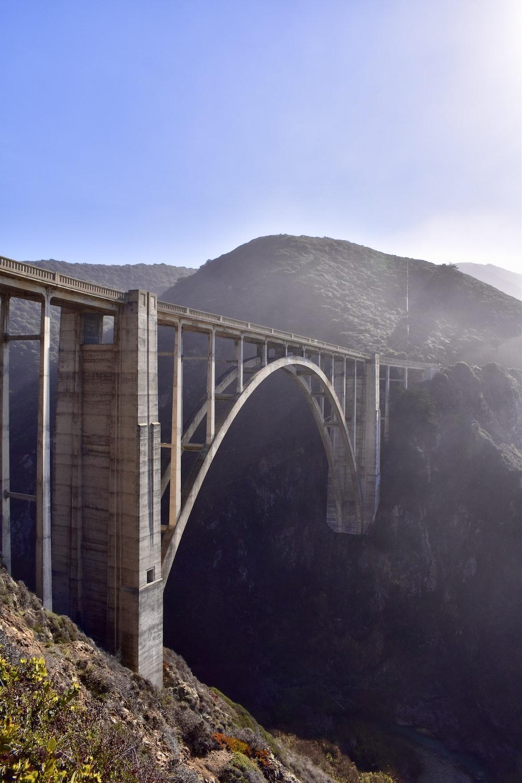 white bridge over the river