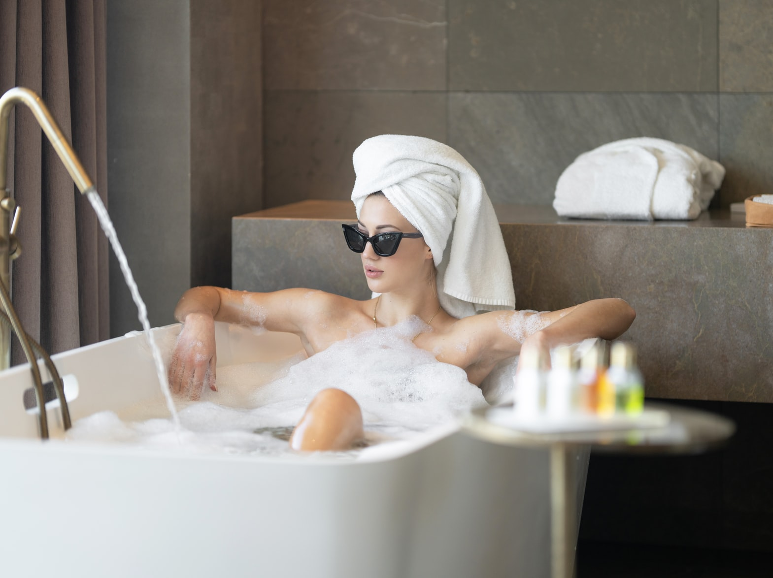 Take a bubble bath - what to do when you're bored