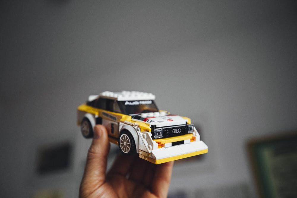 yellow and black toy car