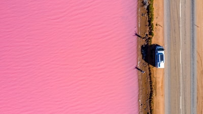 Drive on Watermelon Avenue - Point Sinclair Pink Lake