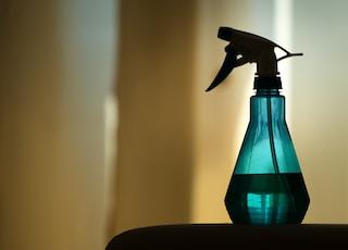 Blue water sprayer